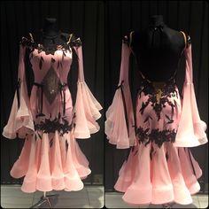 Sugar sweetened ballroom dance dress created by DLK United Design!!! #dlk_united_design #ballroom