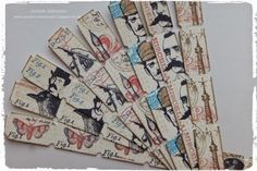 A Vintage Journey: Destination Inspiration : Just the Ticket!   great accents for art journals or scrapbooks