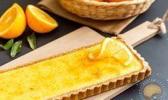 Voici la délicieuse recette de tarte à l'orange de Christophe Felder, croustillante et fondante. Recette de pâtisserie