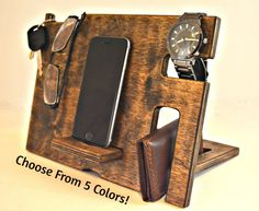 Welcome to Drapela Woodworks, we make THE BEST Phone Docks. When you want a high quality item that is natural, beautiful and made just for you, come to us at Drapela Woodworks ****ABOUT THIS ITEM**** When assembled this item measures inches tall, 11 College Student Gifts, College Students, Iphone Docking Station, Best Cell Phone, Graduation Gifts, Boyfriend Gifts, Just For You, Woodworking, Etsy