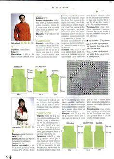 Tejer La Moda 075 - Invierno 2010 - Melina Tejidos - Álbumes web de Picasa