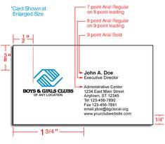 8 Best Business Card Size Images Carte De Visite Name Cards