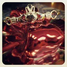 Sterling silver Claddagh bangle bracelet