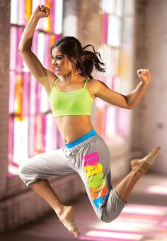 """Rainbow Graffiti Dance Sweatpants """"Being fit is not just about working out, Its also about what you eat""""! Check out some healthy recipes at yummspiration.com"""