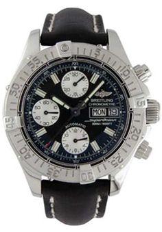 aba1bc3ffa8 Replica Breitling Aeromarine Chrono Superocean Stainless Steel Men s Watch  A1334011-B6-428X