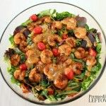 Southwest Shrimp Salad with Honey Lime Dressing Recipe