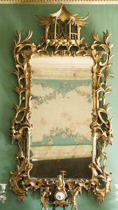 A George III giltwood pier mirror | Lot | Sotheby's
