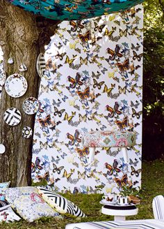 Butterfly Parade wallpaper from Christian Lacroix