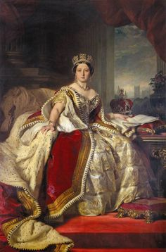 Queen Victoria shortly after becoming Queen.  She reigned from 1837 until her death in 1901.
