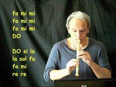 Flauto Dolce: Sinfonia n°40 di Mozart (con note e spartito)