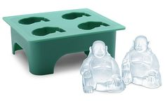 Buy Laughing Buddha - Ice Cube Tray online and save! Be cool with this Laughing Buddha Ice Cube Tray! Made from silicone, this mold produces 4 laughing Buddha molds measuring about 2 tall. Large Ice Cube Tray, Ice Cube Trays, Ice Cubes, Ice Tray, Ice Cube Molds, Bath Bomb Molds, Soap Making Supplies, Mold Making, Cake Making