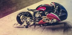 RocketGarage Cafe Racer: The weapon to kill the cat-Cherry Salt of Plan B notorcycles
