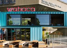 wahaca southbank experiment: shipping container mexican restaurant ...