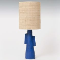 Ceramic Table Lamp, France circa 1950  www.galerieriviera.com