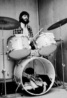 """4-1 in 1970: Ringo Starr enters Abbey Road alone for what would be the very last Beatles session, overdubbing percussion on """"The Long and Winding Road,"""" """"Across The Universe,"""" and """"I Me Mine."""" Producer Phil Spector wraps things up by applying strings to all three."""