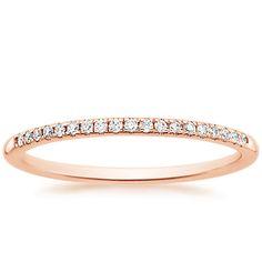 Whisper Diamond Ring in 14K Rose Gold