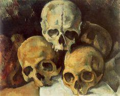 Pyramid of Skulls - Paul Cézanne