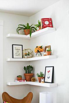 7 Ideas para aprovechar mejor los rincones de tu hogar