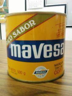 Cuando era Chamo – Recuerdos de VenezuelaMargarina Mavesa en Lata de los ochentas | Cuando era Chamo - Recuerdos de Venezuela