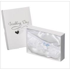Something Blue Wedding Day Garter £8.99 - The Wedding Gift Company