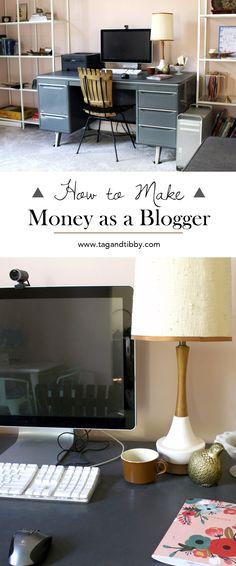 6 ways bloggers can earn money through blogging #entrepreneurship
