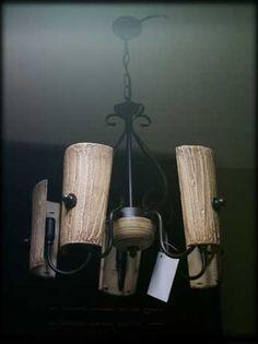 lamparas con tejas viejas - Buscar con Google