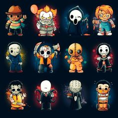 My horror memes horror movies Horror Cartoon, Funny Horror, Horror Icons, Disney Horror, Horror Movie Tattoos, Horror Movie Characters, Halloween Horror, Halloween Art, Halloween Decorations