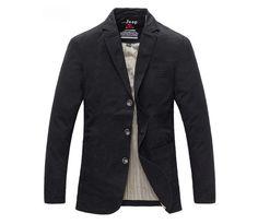Solid Color Slim Fit Men Suits Coats Classic High Quality Turn-down Collar Man Casual Blazers Black Khaki Hombre Jackets M-XXXL