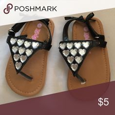 Toddler sandals Has mark on the side of shoe but never worn. kidgets Shoes Sandals & Flip Flops