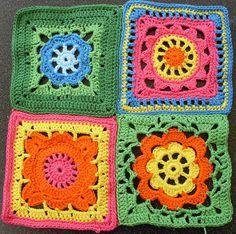 pretty crochet blocks