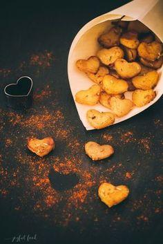 Kartoffelherzen Valentinstag