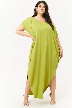 730bc233d15 Forever 21 Plus Size Billowy Maxi Dress