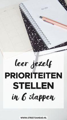 Prioriteiten stellen in 6 stappen