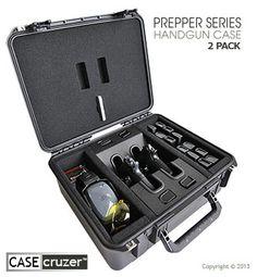 Prepper Quick Draw Handgun Case - Universal 2 Pack. Want. Need.