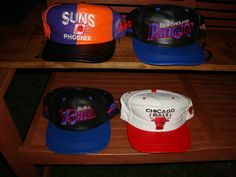 Lot 4 Old School 80's Leather Modera snapback hats by Simplemiles, $95.00