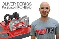 Physiotherapeut und Dozent Oliver Derigs spricht über die Entwicklung des Rockblade Faszientools. Die skurile Entwicklungsgeschichte, warum es zwei ähnliche Instumente sind und über seine Erfahrungen.