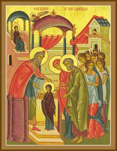 Ways to Celebrate the Feast of the Entrance of the Theotokos into the Temple - Orthodox Motherhood Mother Mary, Mother And Child, Jesus Resurrection, Religious Icons, Orthodox Icons, Mothers Love, Our Lady, Cherub, Christianity