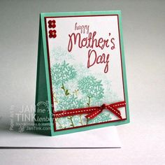 Simple Stems and My Mother by JanTInk - Cards and Paper Crafts at Splitcoaststampers