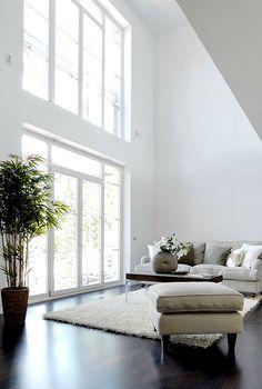 Hoge plafonds - Eenig wonen