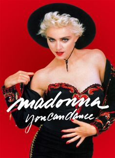 Madonna by Herb Ritts for her album You Can Dance