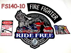 Firefighter Appreciate your freedom ride free warning ammo prices USA Eagle FS140-10  #sturgismidwestinc
