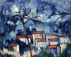 The River Seine at Chatou - Maurice de Vlaminck - WikiPaintings.org