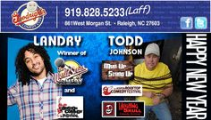 Don 't miss this special co-headliner show with Landry and Todd Johnson! Landry is the winner of the World Series of Comedy (the largest nation-wide comedy competition), and he performed to rave reviews in the Boston Comedy Festival. Todd Johnson has been seen on MadTV 's Mix Up Stand Up, and he can be heard on Sirrus and XM Radio. #Raleigh #NC #comedy