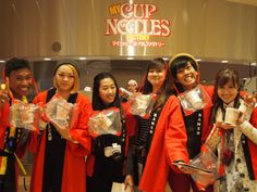 "The six ""Ramen Exchange Students"" In CUPNOODLES MUSEUM. #ramen #japan #asean #SoutheastAsia #jnto"