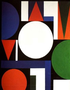 Auguste Herbin - (1882-1960) Abstract Painters, Abstract Art, Modern Art, Contemporary Art, Georges Braque, Inca, Geometric Shapes, Art Forms, Graphic Art