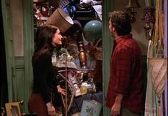 Monica Closet: A closet or room in your house where you put everything you don't know what do with; just crammed with stuff, and very messy.