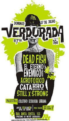 cartaz verdurada by antitudo