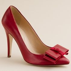 24b64328ebf J.Crew Viv Pumps Red Pumps