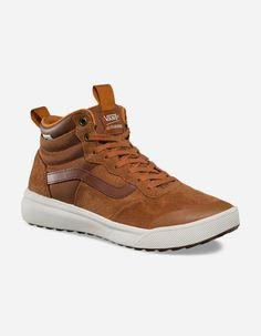 7ed852dfb23052 VANS UltraRange Hi MTE Glazed Ginger Mens Shoes - BROWN - 310909400