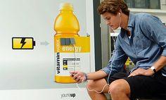 Guerrilla de vitamin para cuando se te acaba la energía. New york. Agency: CP+B